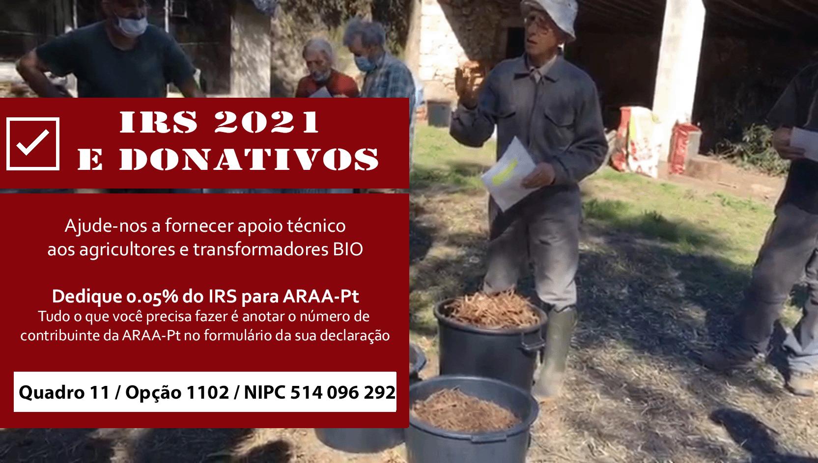 IRS E DONATIVOS 2021